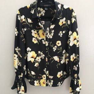 F21 Bell Sleeve Blouse
